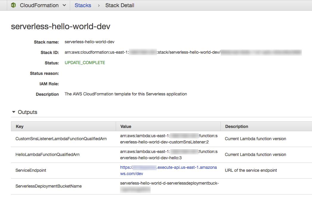 Finding API gateway URL's | Reason SLS